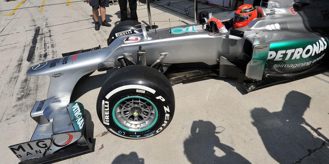 Michael Schumacher GP Ungarn 2012