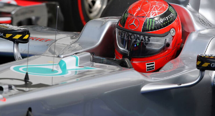 Michael Schumacher - GP Ungarn - Formel 1 - 30.7.2011
