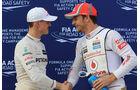 Michael Schumacher & Jenson Button - GP Malaysia - 24. März 2012