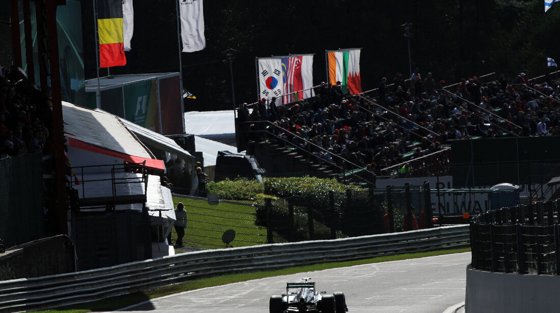 Michael Schumacher - Mercedes - Formel 1 - GP Belgien - Spa-Francorchamps - 1. September 2012