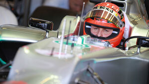 Michael Schumacher - Mercedes - GP Australien - Melbourne - 17. März 2012