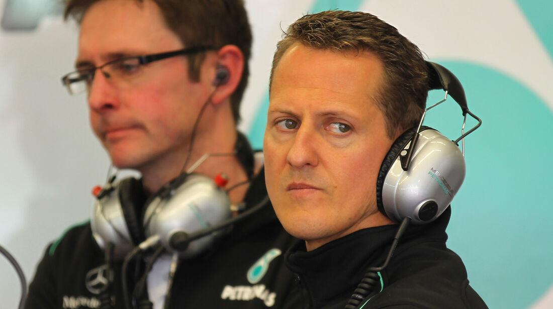 Michael Schumacher Mugello Formel 1 Test 2012