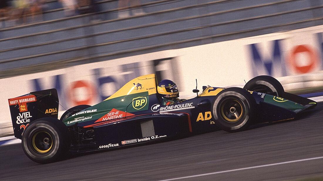 Michele Alboreto Larrousse Lola-Lamborghini LC89 1989