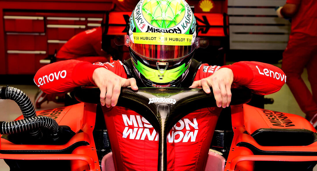 Mick Schumacher - Ferrari - F1-Test - Bahrain - 2. April 2019