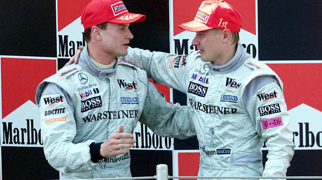Mika Häkkinen 2000 McLaren Coulthard
