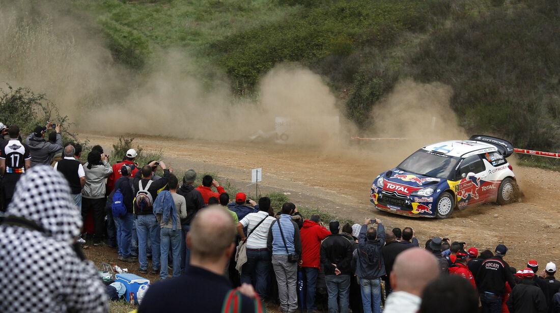 Mikko Hirvonen Rallye Portugal 2012