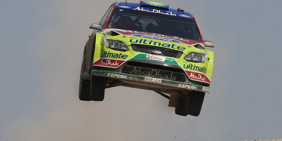 Mikko Hirvonen, Rallye Türkei 2010, Rallye-Sprünge
