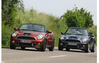 Mini Cabrio, Mini Roadster, Frontansicht
