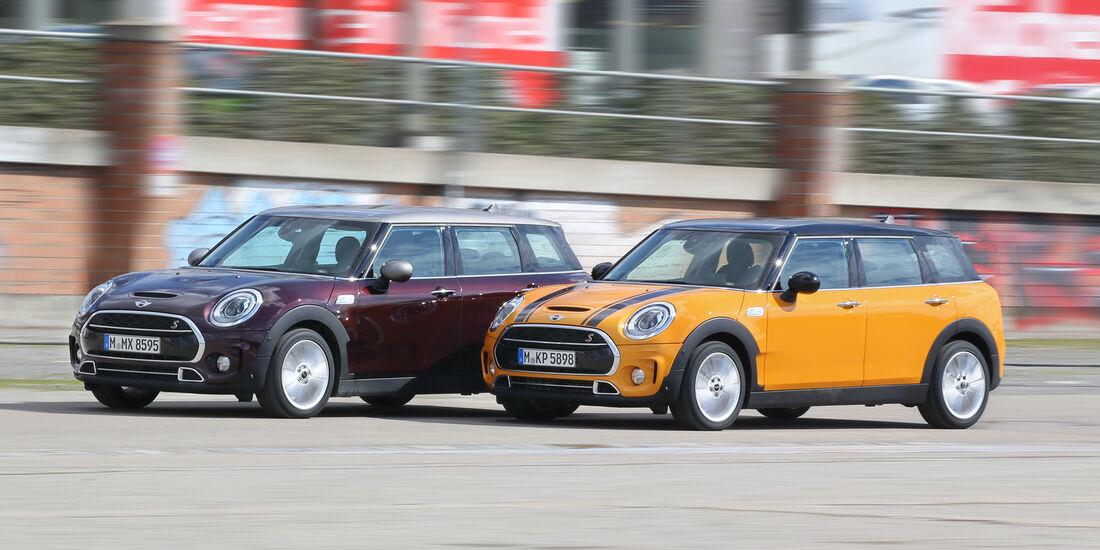 Mini Clubman Cooper S Gegen Sd Eine Frage Des Charakters Auto