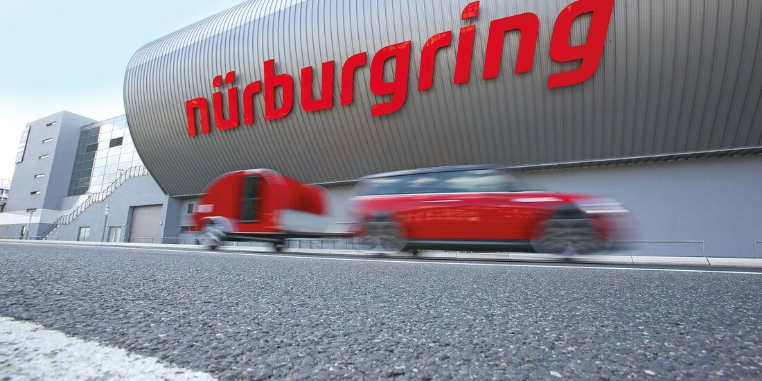 Mini Clubmann Cooper SD mit Cowley, Nürburgring
