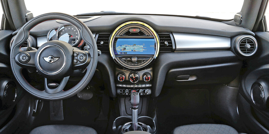 Mini, Cockpit