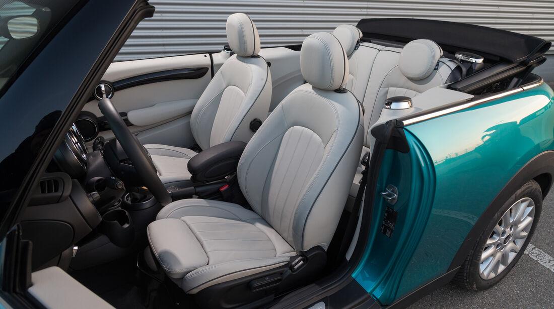 Mini Cooper Cabrio, Sitze