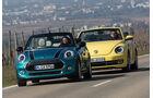 Mini Cooper Cabrio, VW Beetle Cabrio 1.4 TSI, Frontansicht