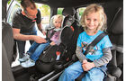 Mini Cooper Countryman, Kindersitze