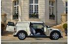 Mini Cooper D Clubvan, Seitenansicht, Türen offen