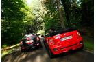 Mini Cooper JCW Cabrio, Mini JCW Roadster, Heckansicht