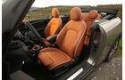Mini Cooper S Cabrio, Fahrersitz
