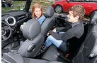 Mini Cooper S Cabrio, Rücksitze