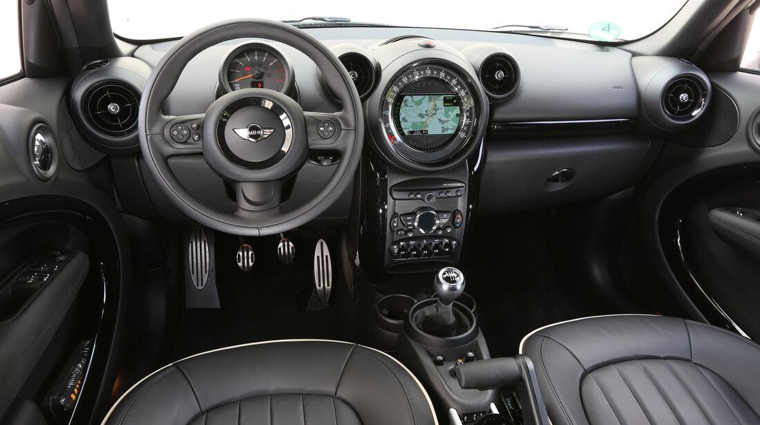 Mini Cooper S Countryman All4, Cockpit