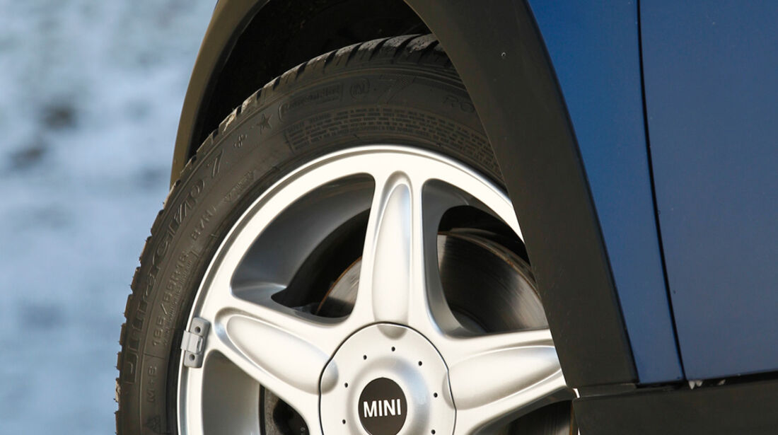 Mini Cooper S Coupé, Felge