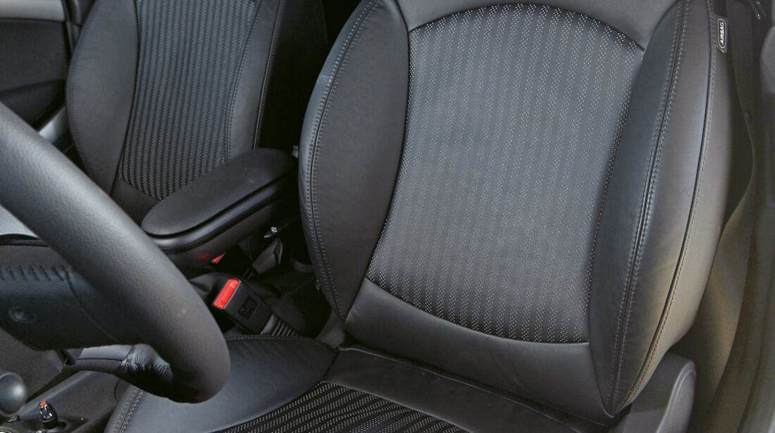 Mini Cooper S Coupé, Sitze
