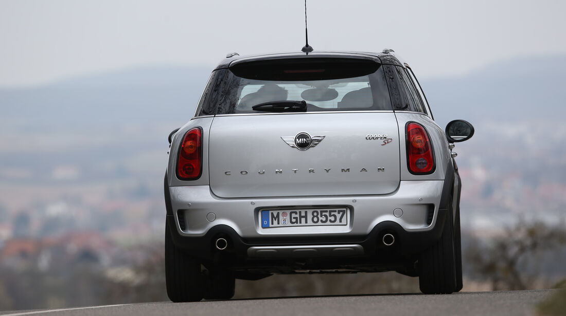 Mini Cooper SD Countryman All4, Heckansicht