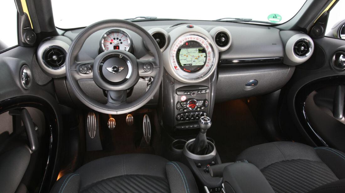 Mini Countryman Cooper SD All4, Cockpit