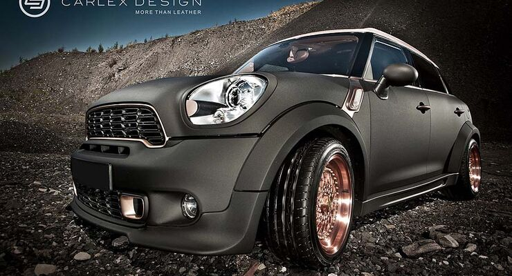 Mini Countryman Ministeam Carlex Design Steampunk