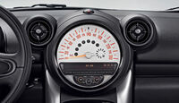 Mini Countryman, Zentralinstrument