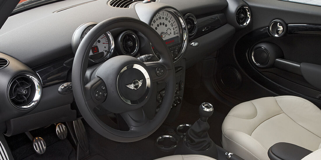 Mini Facelift, Mini Cooper S, Cockpit