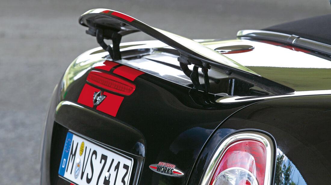 Mini JCW Roadster, Heckspoiler