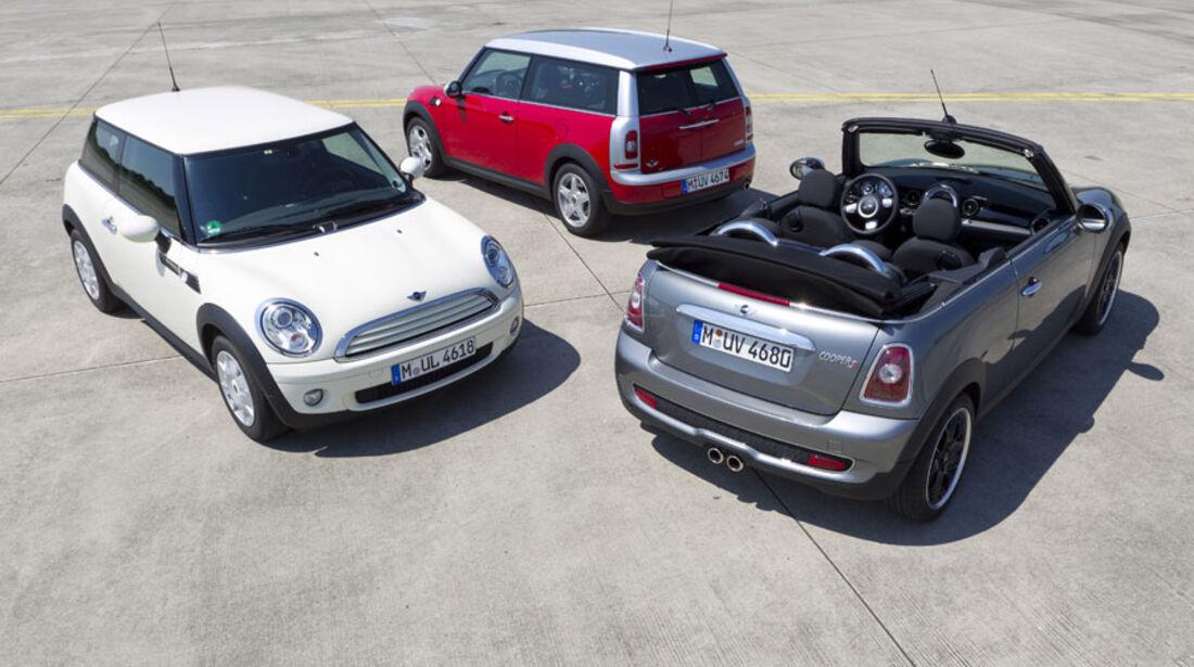 Mini Kaufberatung, Mini Zweitürer, Mini Clubman, Mini Cabrio