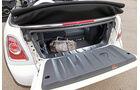 Mini One Cabrio, Kofferraum