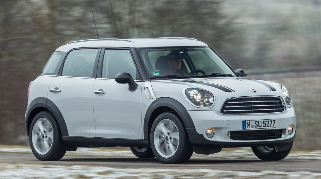 Mini One Countryman, Frontansicht