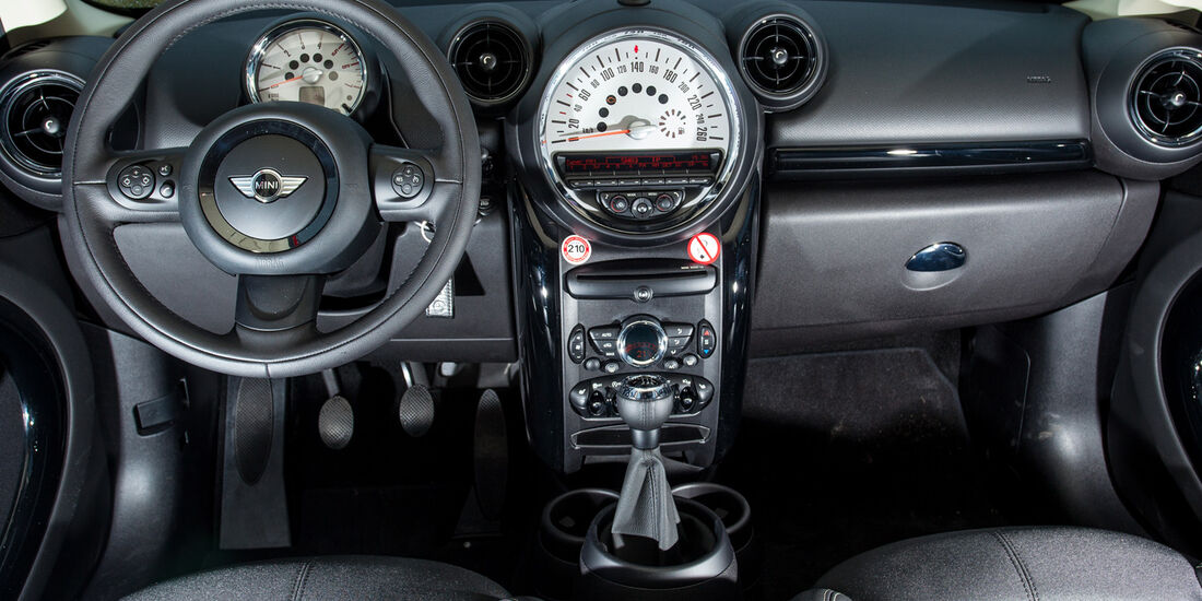 Mini One D Countryman, Cockpit, Lenkrad