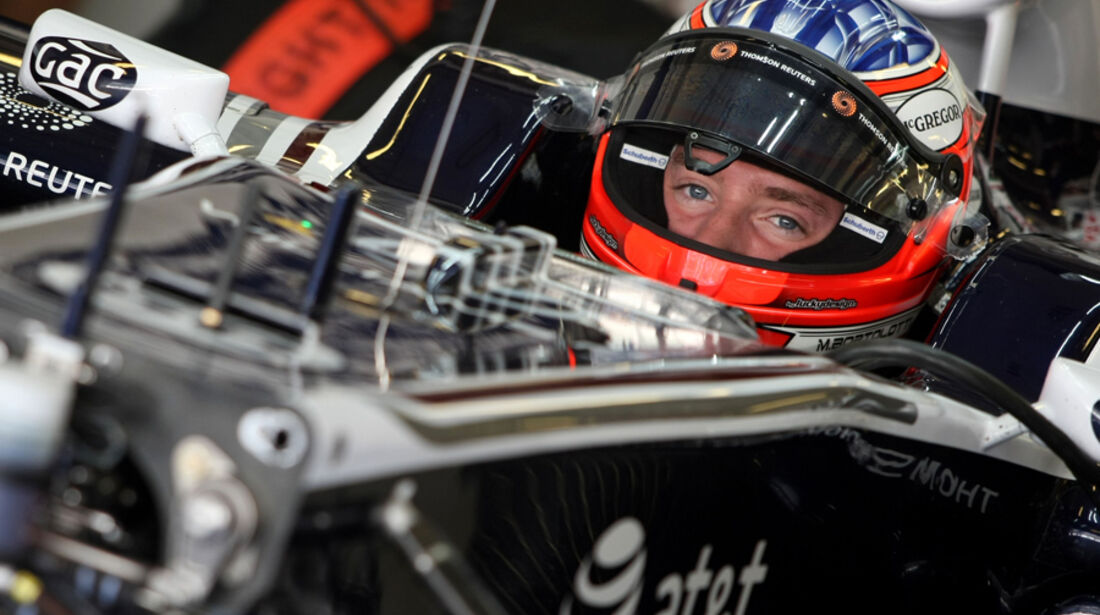 Mirko Bortolotti - Williams - Young Driver Test - Abu Dhabi - 17.11.2011