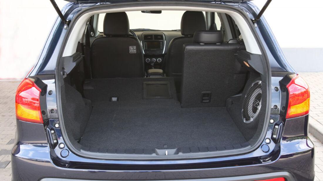 Mitsubishi ASX, Kofferraum