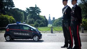 Mitsubishi Electric Vehicle Polizei