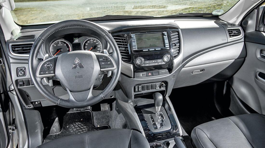 Mitsubishi L200 2,4 DI-D, Ausfahrt, Gelände, Impression