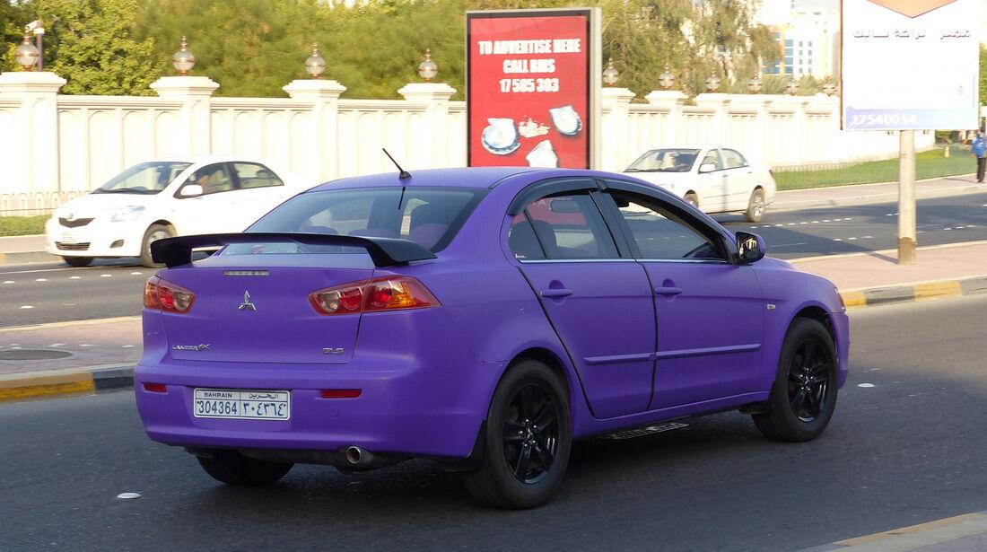 Mitsubishi Lancer - Carspotting Bahrain 2014