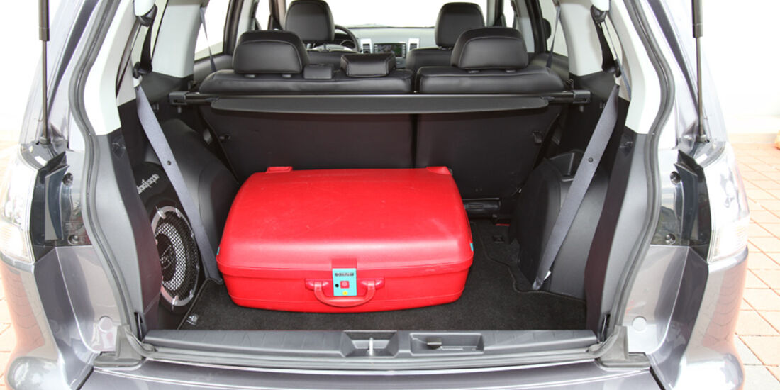 Mitsubishi Outlander, 2.2 DI-D Instyle, Kofferraum