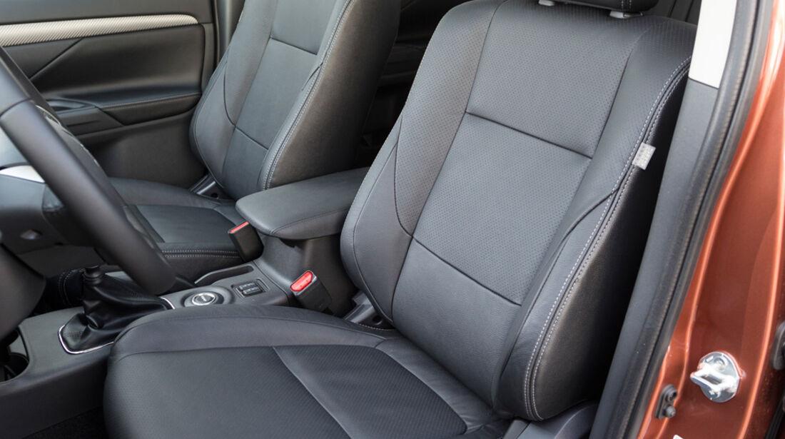 Mitsubishi Outlander 2.2 Di-D 4W, Fahrersitz
