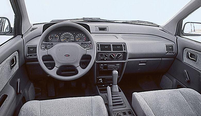 Mitsubishi Space Wagon, Cockpit