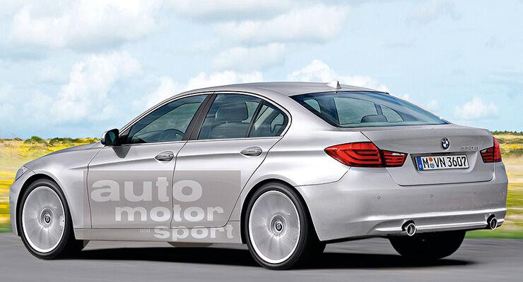Mittelklasse-Limousine BMW 3er