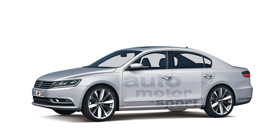 Mittelklasse-Limousine VW Passat