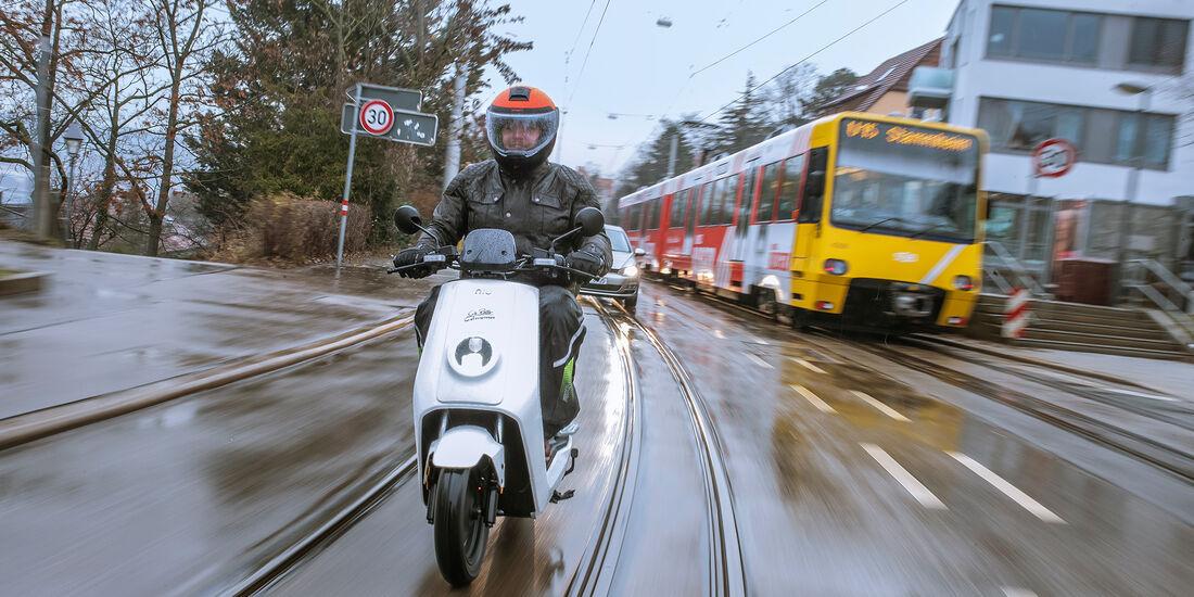 Mobilitätstest, E-Roller, Moove 0119
