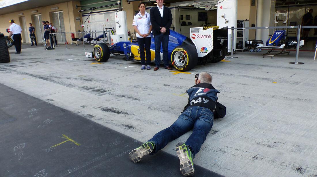 Monisha Kaltenborn - Sauber - GP Abu Dhabi - 28. November 2015