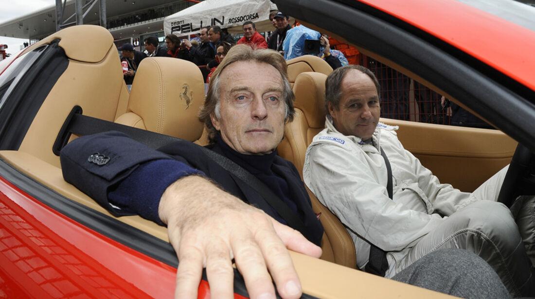 Montezemolo & Berger Ferrari Mondiali 2011 Mugello