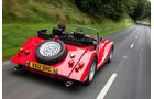 Morgan Roadster V6, Morgan Plus 8, Heckansicht