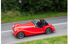 Morgan Roadster V6, Morgan Plus 8, Seitenansicht